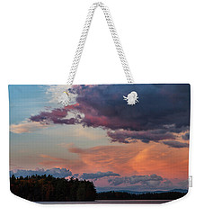 Winnisquam Sunset Weekender Tote Bag