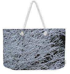 Winter At Dusk Weekender Tote Bag