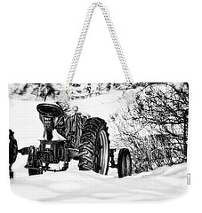 Weekender Tote Bag featuring the photograph Winter Downtime by Richard Bean