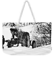 Winter Downtime Weekender Tote Bag