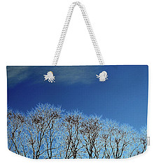 Winter Trees And Sky 3  Weekender Tote Bag