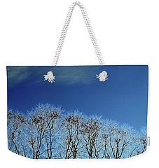 Winter Trees And Sky 3  Weekender Tote Bag by Lyle Crump