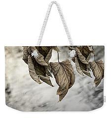 Withered Leaves Weekender Tote Bag