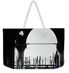 Woman At Doges Palace Weekender Tote Bag