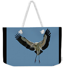 Wood Stork Weekender Tote Bag
