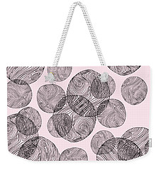 Woodprint Pattern Weekender Tote Bag