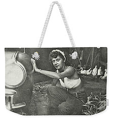 Working At The Carwash Quote Weekender Tote Bag