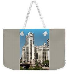 Wrigley Building Weekender Tote Bag