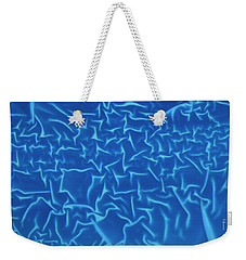Blue Wrinkles Weekender Tote Bag