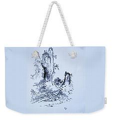 Yama No Fukei Weekender Tote Bag by Roberto Prusso