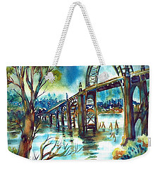 Yaquina Bay Bridge Weekender Tote Bag
