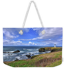 Yaquina Head Lighthouse Weekender Tote Bag
