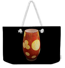 Yellow And White Vase Weekender Tote Bag