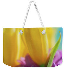 Yellow Lily Weekender Tote Bag