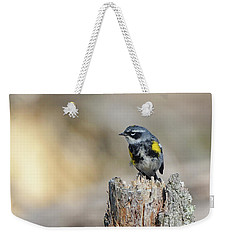 Yellow Rumped Warbler Weekender Tote Bag