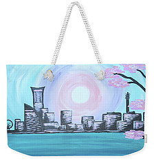 Yokohama Skyline Weekender Tote Bag