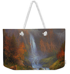 Yosemite Bridal Veil Falls Weekender Tote Bag by Joe Gilronan