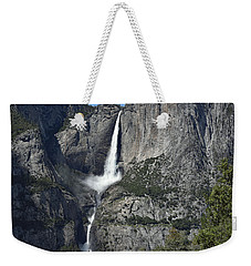 Yosemite Falls From The Four Mile Trail Weekender Tote Bag