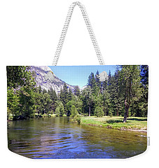 Yosemite Lazy River Weekender Tote Bag