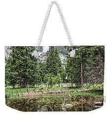 Yosemite View 16 Weekender Tote Bag