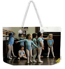 Young Ballet Dancers  Weekender Tote Bag
