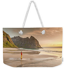 Your Own Beach Weekender Tote Bag by Alex Conu