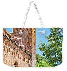 Weekender Tote Bag featuring the photograph Ystad Monastery In Sweden by Antony McAulay