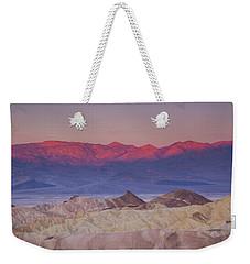 Zabriskie Sunrise Weekender Tote Bag