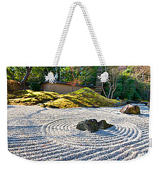 Zen Garden At A Sunny Morning Weekender Tote Bag by Ulrich Schade
