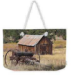 Seed Tiller - Barn Westcliffe Co Weekender Tote Bag