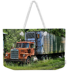 Weekender Tote Bag featuring the photograph 10-4 Good Buddy by Victor Montgomery