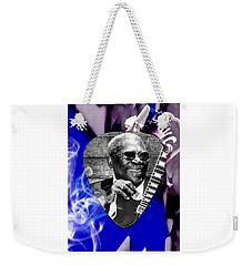 Bb King Art Weekender Tote Bag
