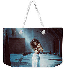 Weekender Tote Bag featuring the photograph Giulia by Traven Milovich
