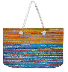 Weekender Tote Bag featuring the painting Identity by Kyung Hee Hogg