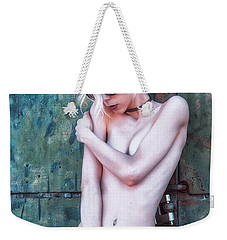 Weekender Tote Bag featuring the photograph Kelevra by Traven Milovich