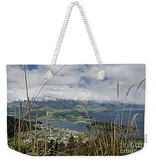 Queenstown New Zealand. Remarkable Ranges And Lake Wakatipu. Weekender Tote Bag by Yurix Sardinelly