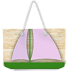 Sailing Collection Weekender Tote Bag