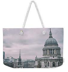 St Pauls Cathedral Weekender Tote Bag
