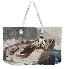 The Gulf Stream Weekender Tote Bag by Winslow Homer