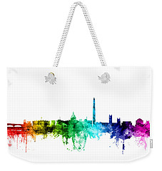 Washington Dc Skyline Weekender Tote Bag