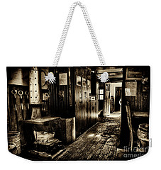100 Year Old Prr Caboose Weekender Tote Bag by Paul W Faust - Impressions of Light