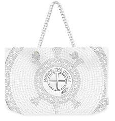 102007- Honor_the_circle Weekender Tote Bag