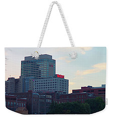 Weekender Tote Bag featuring the photograph 103.3 Wkdf by Nick Kirby