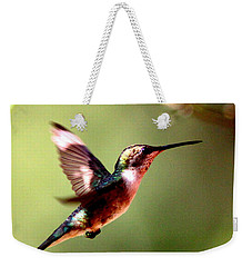 103456 - Ruby-throated Hummingbird Weekender Tote Bag