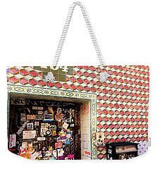 104 Brooklyn New York Door   Weekender Tote Bag by Funkpix Photo Hunter