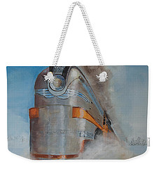 104 Mph In The Snow Weekender Tote Bag