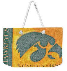 10720  Iowa Hawkeye Weekender Tote Bag