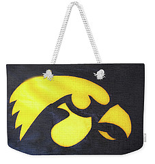 10724  Iowa Hawkeye Weekender Tote Bag