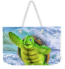 10731 Myrtle The Turtle Weekender Tote Bag