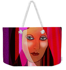 1081 - Pink Veil 2017 Weekender Tote Bag by Irmgard Schoendorf Welch